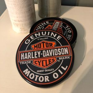 Harley-Davidson Coaster Set
